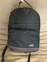 Рюкзак Lee дно эко-кожа R-50 (черный+коричневое дно), фото 1