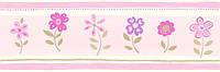 Бордюр в детскую флизелиновый Floral Giggle