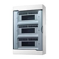 Коробок для автоматов Lezard с прозрачной крышкой ЩРН-П-36 для наружной установки 36-и модульных устройств