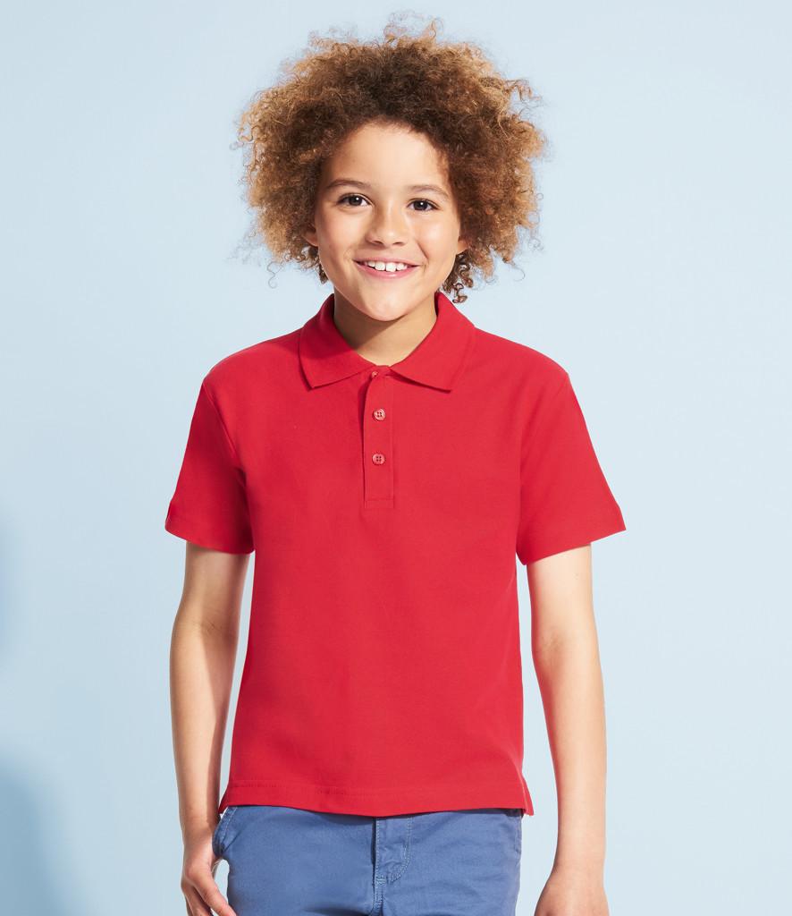 Детская рубашка поло SOL'S SUMMER II KIDS, 4 - 12 лет, 10 цветов, 11344