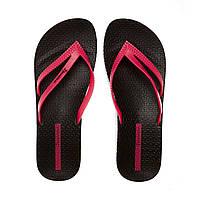 Женские летние шлепки Ipanema Bossa Soft Black Pink 82064-22883 f18efd472eef5