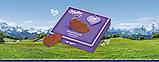 Шоколадні цукерки у коробці Milka Hauchzarte Herzen Alpenmilch у формі сердечок, 130 гр., фото 4