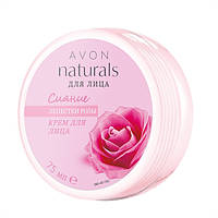 72418,Avon Cosmetics.Крем для лица «Лепестки розы. Сияние »,75 мл.Avon Cosmetics,72418