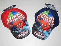 Кепки для мальчиков Spider-Man оптом, 52-54 см.