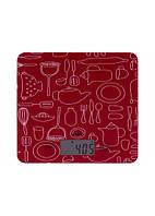 Ваги кухонні Magio MG-690 (red)