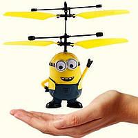 Игрушка миньон летающий magical aircraft  (  USB)