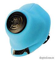 Маска-респиратор У2К флизелин голубой (хрюша)