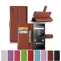 Чехол книжка Lichee для  Sony Xperia X F5122 (9 цветов)