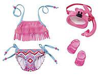 Одежда для кукол Беби Борн купальник с маской для подводного плавания Baby Born Zapf Creation 823750