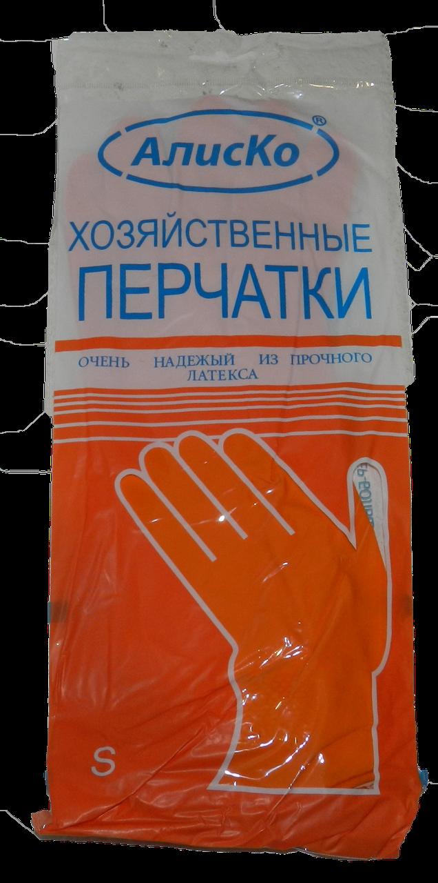 Перчатки Латекс Хозяственные / разм. М/12шт./60пар в уп./