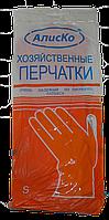 "Перчатки ""Латекс- Хозяств."" / разм. S/12шт./60 пар в уп./"