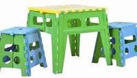 Детский раскладной стол, пластиковый