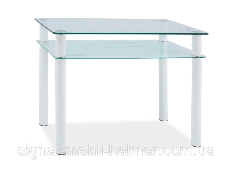 Стол стеклянный в маленькую кухню Sono 100x60 SIGNAL