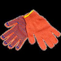 Перчатки цветные Х/Б плотные (уп.10 пар)
