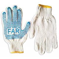 Перчатки Фар Х/Б (500гр.=12 пар в уп.) /одесса/