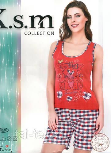 Пижама с шортами KSM №9006, фото 2