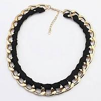 Колье ожерелье ювелирная бижутерия позолоченное 3530