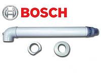 BOSCH AZ 389. Коаксиальный горизонтальный комплект Ø60/100 мм