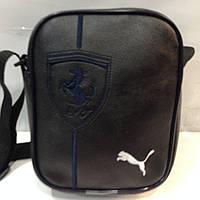 Стильный и практичный мужской аксессуар, сумка Puma Ferrari, из мира спорта, качественный кожзам  оптом