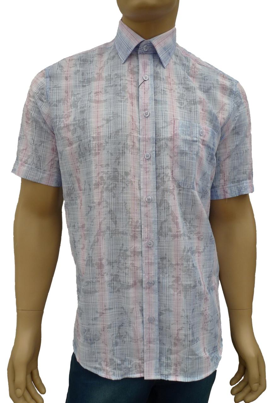 Летняя рубашка короткий рукав