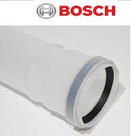 BOSCH AZB 611. Удлинитель 1000 мм, Ø80 для конденсационных котлов - колонок BOSCH.