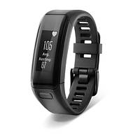 Фитнес-браслет, Garmin vivosmart HR Black Regular