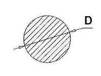Чертеж круг