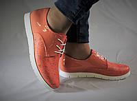 Стильные яркие туфли. Натуральная кожа. Туфли женские 1036
