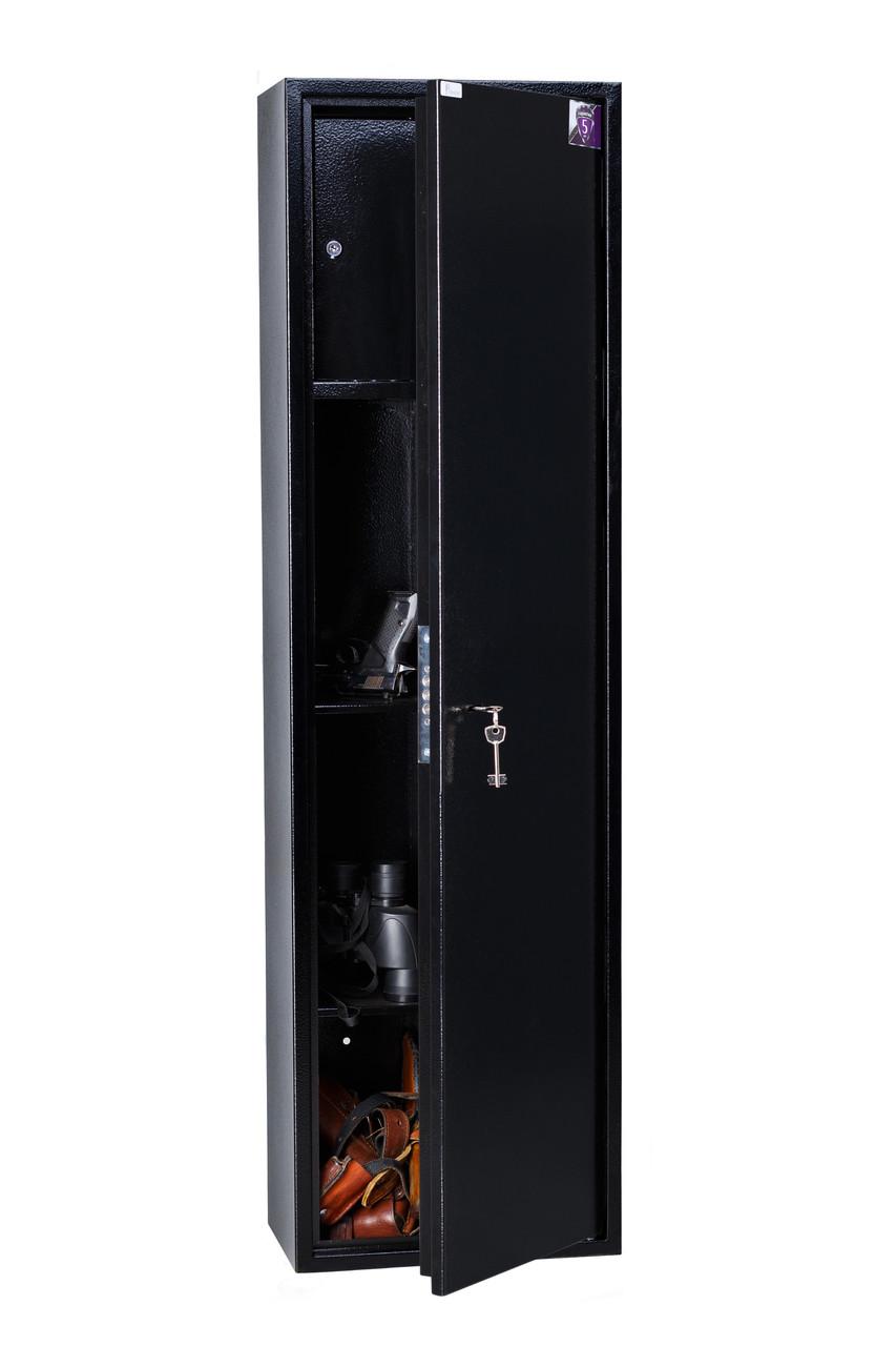 Оружейный сейф Е137К.Т1.П2.9005, 390х1370х250, 29.3 кг