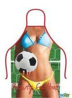 Фартух сувенірний, жіночий. Футболістка