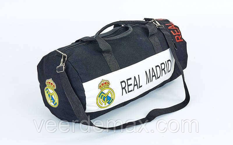 Сумка недорогая спортивная для тренировок Реал Мадрид