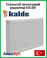 Стальной радиатор Kalde боковое подключение 22k 500*1000