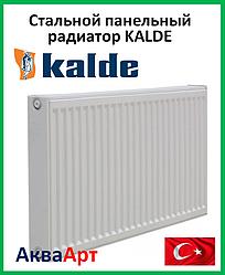 Стальной радиатор Kalde  боковое подключение 22k 500*400