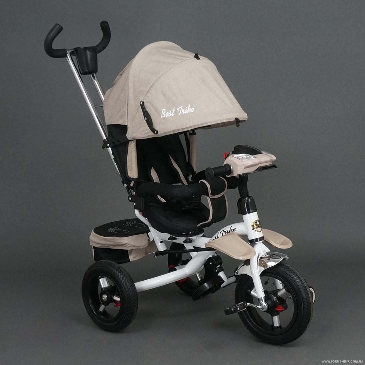 Детский трехколесный велосипед с ручкой Best Trike 6595  - Интернет-магазин Рыжуля в Тернополе