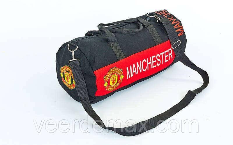 Сумка недорогая спортивная для тренировок Манчестер Юнайтед