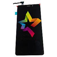 """Дисплей для мобильного телефона Lenovo A5500 CDMA+GSM S8 Play 5.5"""", черный, с тачскрином"""