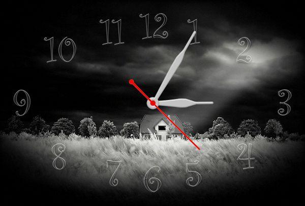 Часы настенные Z89 30х45 см