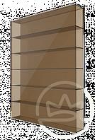 Сотовый поликарбонат Solidplast UV 6H/2, бронза 6мм.