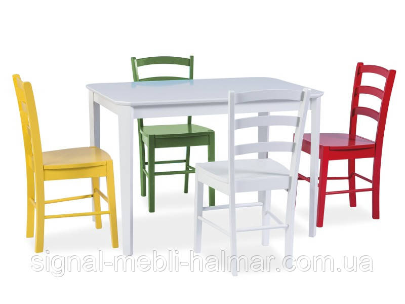Стол обеденный Timor 110*75 белый SIGNAL