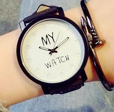 Кварцевые часы MY WATCH (white) - гарантия 6 месяцев
