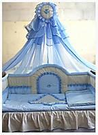 Комплект в детскую кроватку Ангелочек.