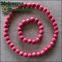 Буси з браслетом блідо-рожевого кольору