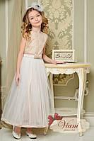 Платье нарядное VIANI Крем-брюле