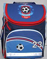 Ранец-Рюкзак школьный каркасный ортопедический Kite Футбол GO17-5001S-10