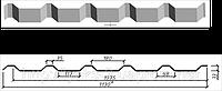 Профнастил оцинкованный НС-35