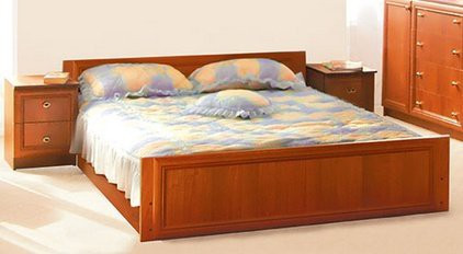 """Двоспальне ліжко """"Лотос"""""""