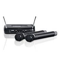 Беспроводная система - два ручных микрофона LD Systems WSECO2X2HHD, фото 1