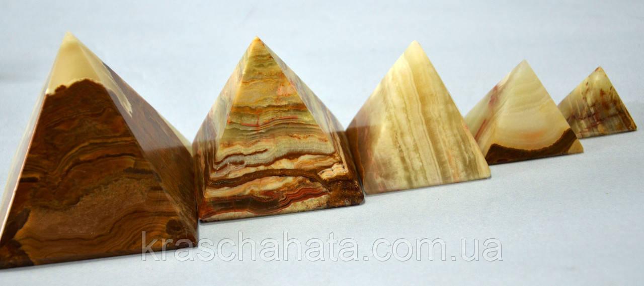 Пирамида, оникс, 3,5 см, Изделия из оникса, Днепропетровск