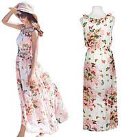 Женское летнее платье с бабочками РМ7044