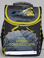 Ранец-Рюкзак школьный каркасный ортопедический Kite Hot Wheels GO17-5001S-9
